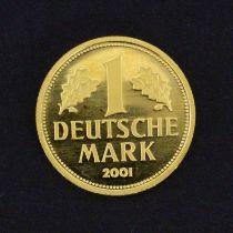 """1 DEUTSCHE MARK 2001 """"Abschied der"""