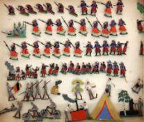 LOT CA. 70 ZINNSOLDATEN Kavallerie,