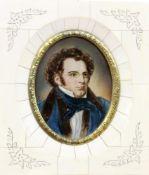 MINIATUR Franz Schubert. Auf fossilem