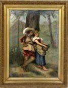 SALAS, RAFAEL Spanischer Maler 1830 -