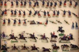LOT CA. 62 ZINNSOLDATEN Kavallerie und