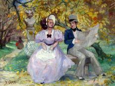 CARRO, YVONNE Französische Malerin aus