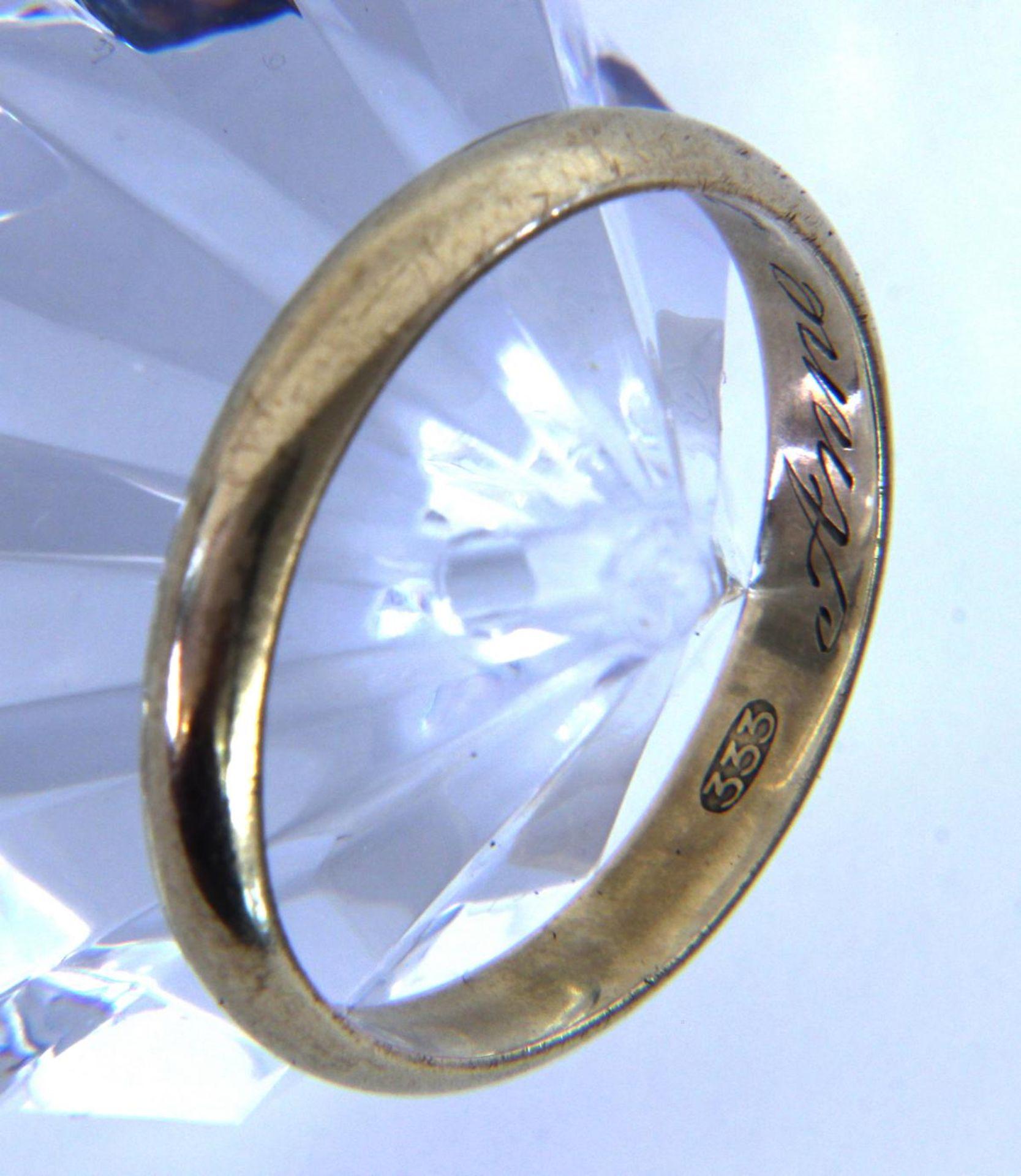 EHERING 585/000 Gelbgold. Ringgr. 62.