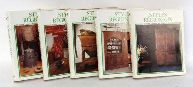 STYLES REGIONAUX 5 Bände über