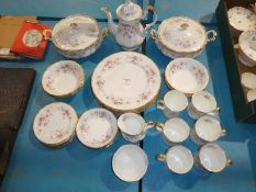 A Paragon bone china Victoriana Rose thirty-five piece Breakfast Service