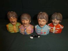 Manor Collectables, The Beatles, a set of four Prototype Character Jugs - Paul McCartney with broken