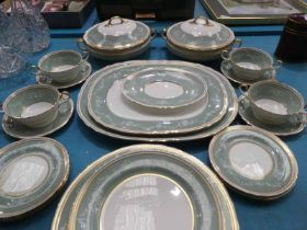A twenty-nine piece Aynsley bone china part Dinner Service