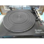 A Profile Express vinyl to MP3 turntable