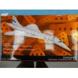 A Meccano Concorde construction set
