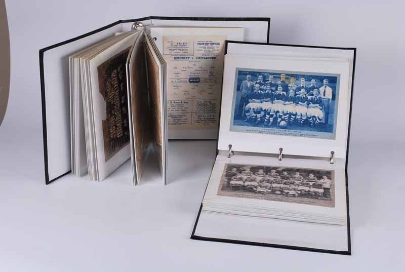 A good collection of pre 1950's football memorabilia including Burnley FC programmes from the 1940' - Image 2 of 2