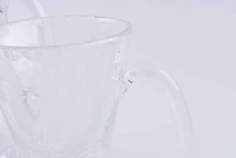 An Edinburgh Crystal 'Thistle' pattern decanter, of thistle bud form with diamond pattern below - Image 5 of 5