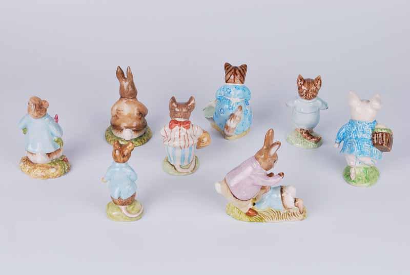 Eight Royal Albert Beatrix Potter figures - Image 2 of 2