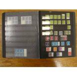 Album of G.B Queen Elizabeth II mint decimal machin definitives plus booklet pages