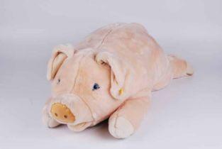 A Steiff pig