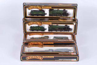 Four mainline railways Double O Locomotives all boxed. Cat 37-058 G.W.R 0.6.0 collett, Cat 37-078