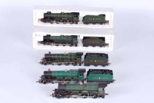 Five Hornby railways Double O Locomotives, no boxes, RT8 G.W.R 4.6.0 King Edward I no tender R141