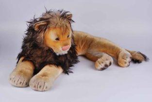 A white tag Steiff lion