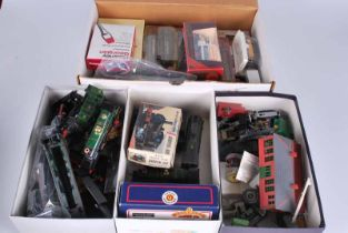 Collection model trains, cars, vans and lorrys, A/F