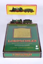 Hornby railways Double O Lord of the Isles G.W.R classic limited edition set with three clerestory