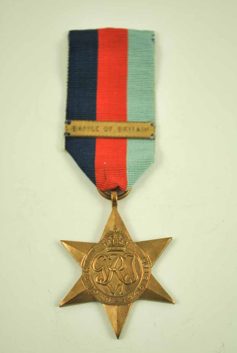 WW2 1939-45 star with battle of britain clasp - Image 2 of 2