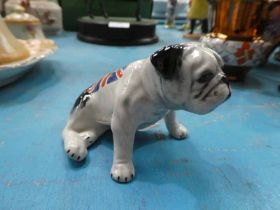 A Carltonware model British Bulldog