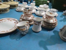 A Thomas Wild early Royal Albert 25 piece tea set