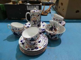 A Gaudy welsh 23 piece tea service for 6 places
