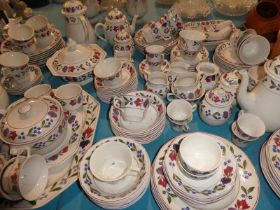 An extensive Adams Ironstone table service in the Old Colonial pattern