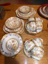A selection of Royal Albert Indian Tree tea ware (34 pieces)