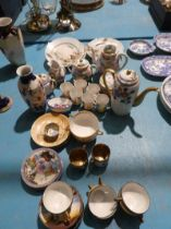 A collection of mainly Japanese eggshell and porcelain tea ware, Approx 60 pieces.