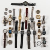 Collection of Vintage and Contemporary Men's Wristwatches