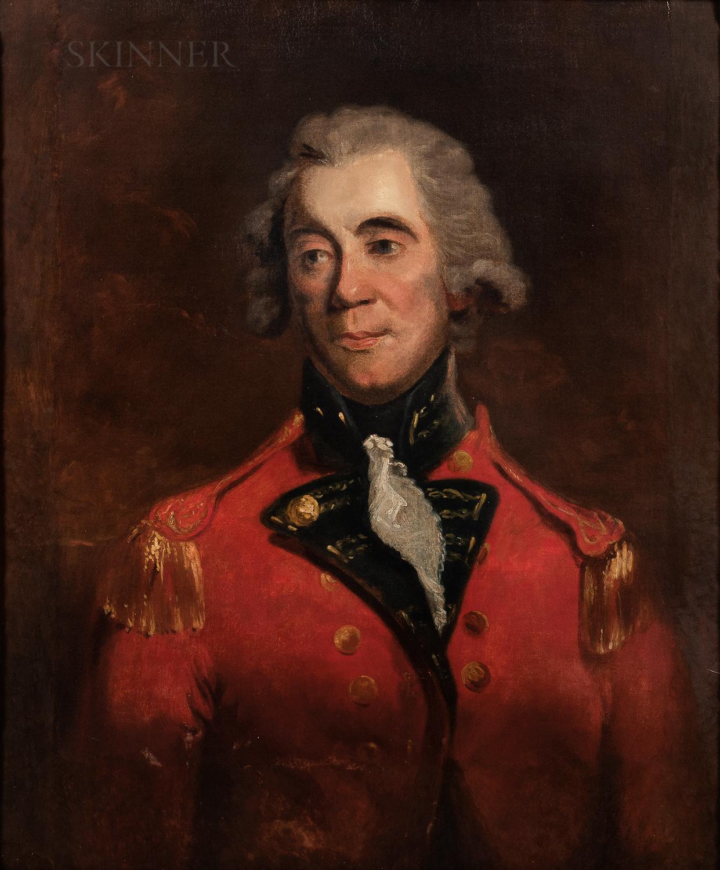 Attributed to Sir William Beechey (British, 1753-1839) - Image 2 of 2