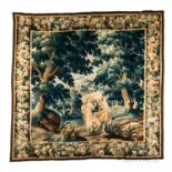Aubusson Tapestry Landscape with Figures