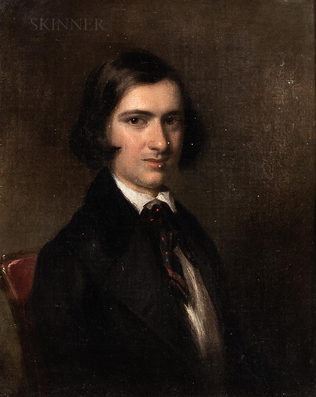 Attributed to George Hayter (British, 1792-1871) - Image 4 of 4