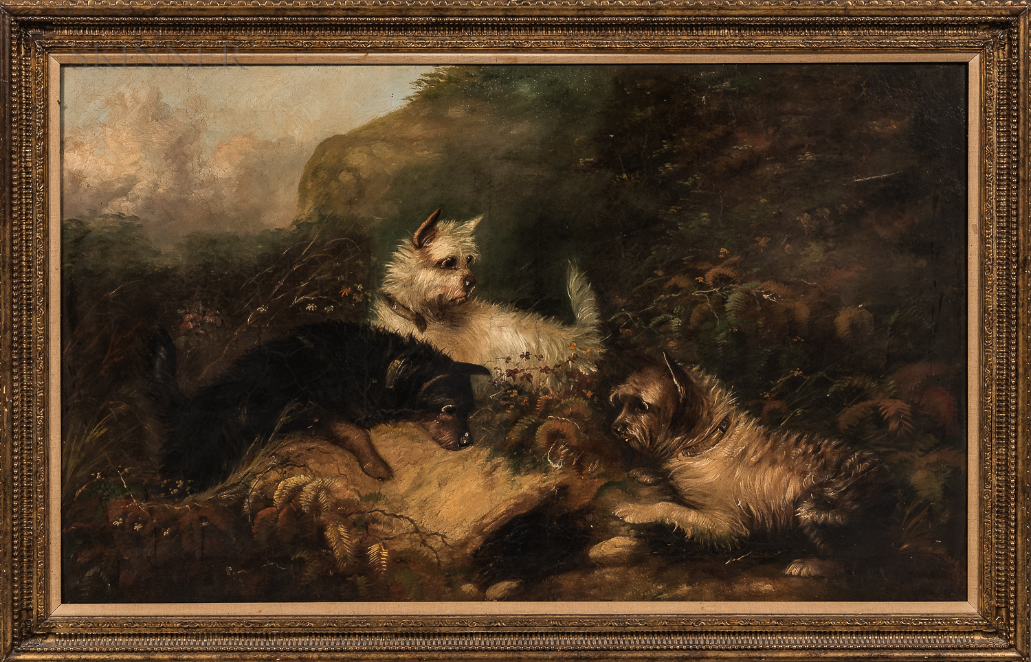 Attributed to George (Smith) Armfield (British, 1808-1893) - Image 2 of 3
