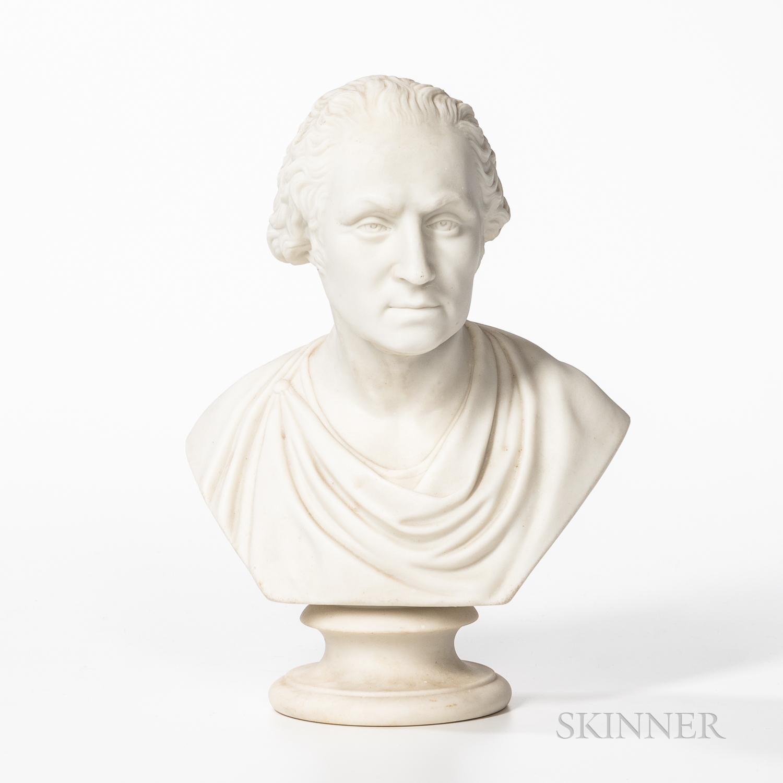 Copeland Parian Bust of George Washington