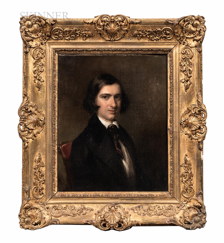 Attributed to George Hayter (British, 1792-1871) - Image 2 of 4