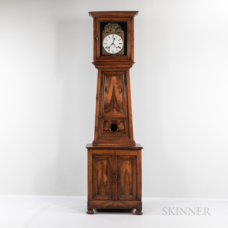 Matthew Norman Fruitwood Tall Case Clock