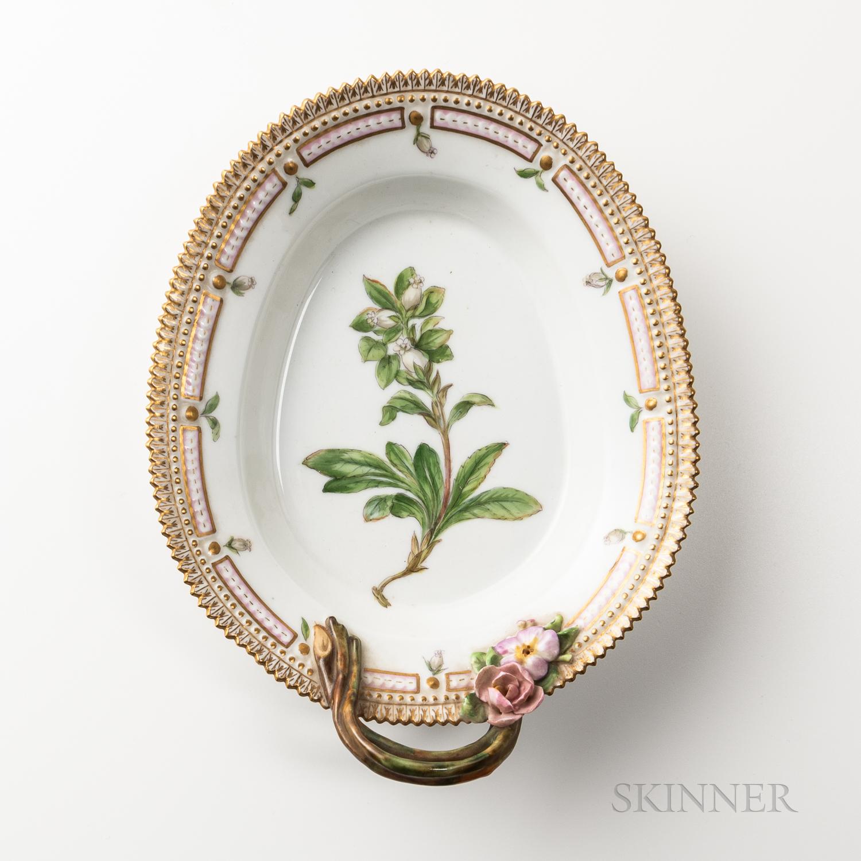 Royal Copenhagen Flora Danica Oval Serving Dish