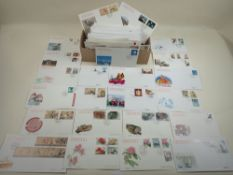 Some 300 FDC of People's Republic of China stamps from 1990s, most if not all different and