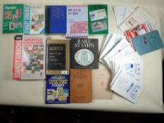 Box of stamp catalogues incl SG Br Commonwealth & Empire 2017, Channel Islands, China 6th Edition