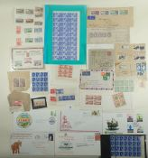Box of mainly GB/Commonwealth defin & commem stamps, QV-QEII, on cover, piece and page incl Northern