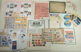Large boxed accumulation of QV to QEII GB, Br Empire & C'wealth + ROW in albums, box-file, stock-