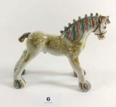 A Basil Mathews pottery pony