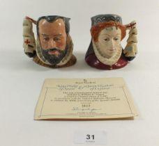 Two Royal Doulton Character mugs