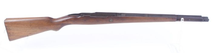 Mauser '98 military rifle stock