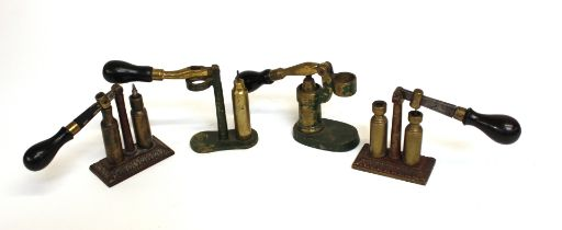 Four capper decappers by Dixon and others