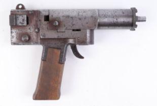 .22 Accles & Shelvoke Ltd. Cash Captive Bolt Pistol, humane killer, no.11127, with a quantity .22 bl