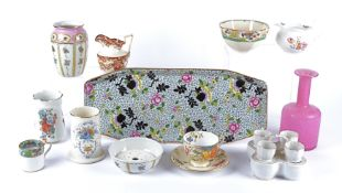 A Quantity of predominantly British china and pottery to include a part Coalport moulded service