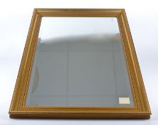 Three contemporary silvered full length mirrors of rectangular form, 120cm x 20cm, together with a